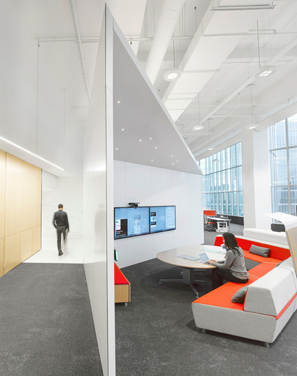 Dossier de presse | 809-15 - Communiqué de presse | Azure announces the finalists of the fifth annual AZ Awards - Azure Magazine - Competition - Commercial  ⁄ Institutional Interiors: Superkül: Steelcase WorkLife, Toronto, Canada<br> - Crédit photo :  AZ Awards 2015