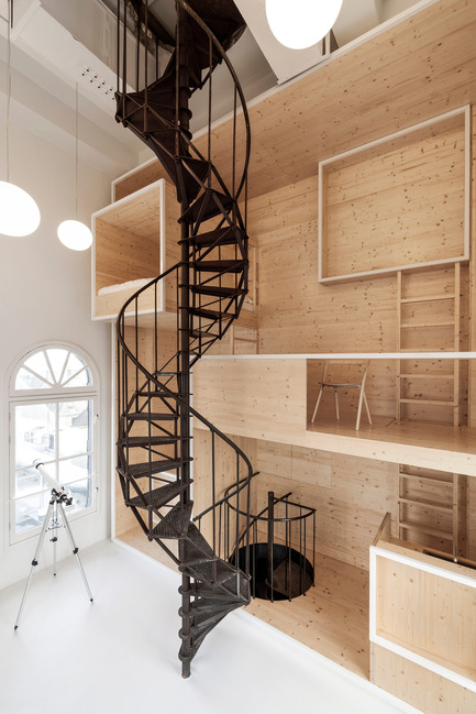 Dossier de presse | 809-15 - Communiqué de presse | Azure announces the finalists of the fifth annual AZ Awards - Azure Magazine - Concours - Residential Interiors: i29 Interior Architects: Culture 01, Amsterdam, Netherlands<br> - Crédit photo :  AZ Awards 2015