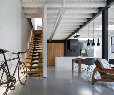 Dossier de presse | 809-15 - Communiqué de presse | Azure announces the finalists of the fifth annual AZ Awards - Azure Magazine - Concours - Residential Interiors: Atelier Moderno: Le 205, Montreal, Canada<br> - Crédit photo :  AZ Awards 2015