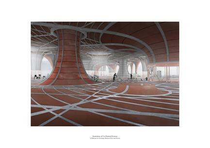 Dossier de presse | 809-15 - Communiqué de presse | Azure announces the finalists of the fifth annual AZ Awards - Azure Magazine - Concours - Student A+ Award: Anthony Ko (Architectural Association School of Architecture, London, UK): Institution of Un-Natural Fictions<br> - Crédit photo :  AZ Awards 2015