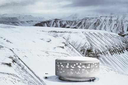 Dossier de presse | 809-15 - Communiqué de presse | Azure announces the finalists of the fifth annual AZ Awards - Azure Magazine - Competition - Student A+ Award: Sofia Ceylan, Katharina Laekamp and Leonie Otten (Technische Universität Berlin, Germany): Memory of the Arctic<br> - Crédit photo :  AZ Awards 2015