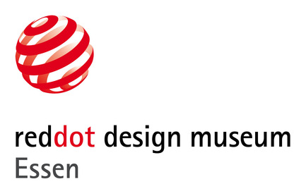 Dossier de presse | 1696-01 - Communiqué de presse | Red Dot Award celebrates 60 years of design history - Red Dot Award - Évènement + Exposition - Logo of the Red Dot Design Museum Essen.<br> - Crédit photo : Red Dot<br>