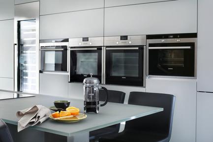 Press kit | 1701-01 - Press release | Butterton by LLI Design -Award winning contemporary family residence - LLI Design - Residential Interior Design - Kitchen Detail- Appliances - Butterton- LLI Design - Photo credit: Alex Maguire Photography