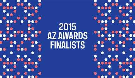 Dossier de presse | 809-15 - Communiqué de presse | Azure announces the finalists of the fifth annual AZ Awards - Azure Magazine - Concours - Crédit photo : AZ Awards 2015<br>