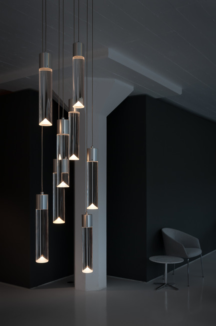Press kit | 1615-01 - Press release | Canadian Lighting Company Archilume Unveils New LED Chandeliers at  ICFF, May 16-19, 2015 - Archilume - Lighting Design - Archilume P8&nbsp;<br> - Photo credit:  Cat Segovia Photography