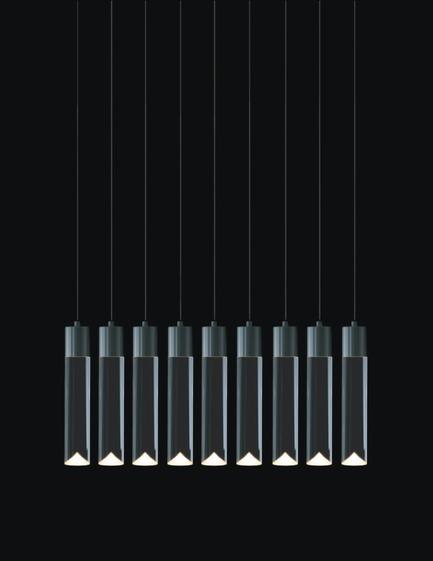 Dossier de presse | 1615-01 - Communiqué de presse | Canadian Lighting Company Archilume Unveils New LED Chandeliers at  ICFF, May 16-19, 2015 - Archilume - Lighting Design - Archilume P9 Light<br> - Crédit photo : Archilume