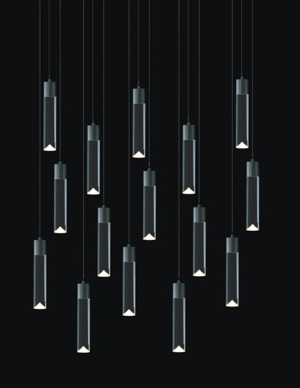 Press kit | 1615-01 - Press release | Canadian Lighting Company Archilume Unveils New LED Chandeliers at  ICFF, May 16-19, 2015 - Archilume - Lighting Design - Archilume P15A Light<br> - Photo credit:  Archilume