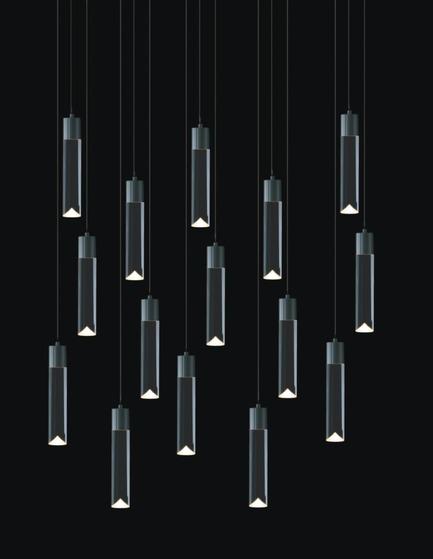 Dossier de presse | 1615-01 - Communiqué de presse | Canadian Lighting Company Archilume Unveils New LED Chandeliers at  ICFF, May 16-19, 2015 - Archilume - Lighting Design - Archilume P15A Light<br> - Crédit photo :  Archilume