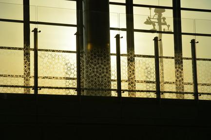 Dossier de presse | 1615-01 - Communiqué de presse | Canadian Lighting Company Archilume Unveils New LED Chandeliers at  ICFF, May 16-19, 2015 - Archilume - Lighting Design - HAMAD INTERNATIONAL AIRPORT - Crédit photo : Joel Berman Glass Studios