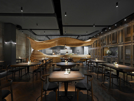 Press kit | 1124-05 - Press release | World Interiors News Awards 2015 jury announced - World Interiors News - Commercial Interior Design - Restaurant RAW, Taipei, Taiwan by Weijenberg Pte Ltd - Photo credit: Weijenberg Pte Ltd