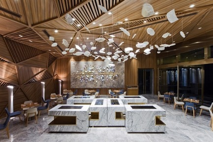 Dossier de presse | 1124-05 - Communiqué de presse | World Interiors News Awards 2015 jury announced - World Interiors News - Design d'intérieur commercial - Yue, Chengdu, China by Panorama Int. Ltd - Crédit photo : Panorama Int. Ltd