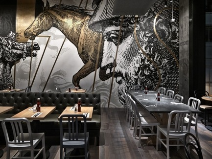 Dossier de presse | 1124-05 - Communiqué de presse | World Interiors News Awards 2015 jury announced - World Interiors News - Design d'intérieur commercial - BEEF & LIBERTY, Wanchai, Hong Kong by spinoff co., ltd. - Crédit photo : spinoff co., ltd.