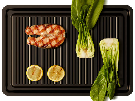 Press kit | 1133-03 - Press release | Electric Hibachi: an electric grill adapted to urban living - ALTO Design - Industrial Design - Photo credit:  Downtown Grill Inc.