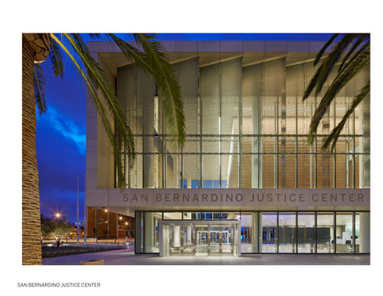 Press kit | 1187-03 - Press release | Announcing AIA San Francisco 2015 Design Awards winners - American Institute of Architects, San Francisco Chapter (AIA SF) - Competition - San Bernardino Justice Center by SOM - Photo credit: Bruce Damonte Photography