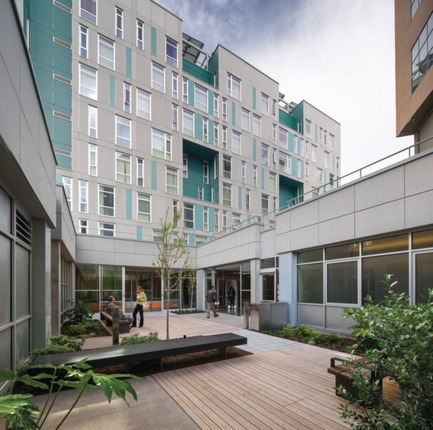 Press kit | 1187-03 - Press release | Announcing AIA San Francisco 2015 Design Awards winners - American Institute of Architects, San Francisco Chapter (AIA SF) - Competition - Rene Cazenave Apartments by LMS Architects andSaida + Sullivan Design Partners - Photo credit: Tim Griffith