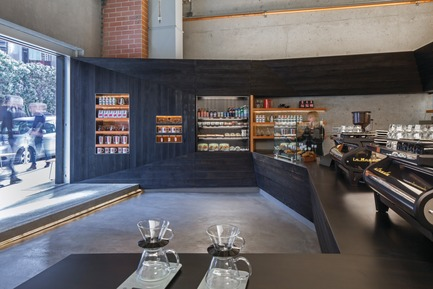 Press kit | 1187-03 - Press release | Announcing AIA San Francisco 2015 Design Awards winners - American Institute of Architects, San Francisco Chapter (AIA SF) - Competition - Coffee Bar Kearny byjones | haydu - Photo credit: Art Gray