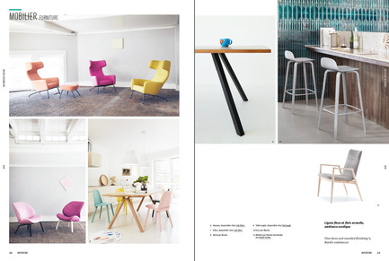 Press kit | 611-20 - Press release | Index-design launches the 8th edition of theGuide - 300 Adresses design pour aménager et rénover - Index-Design - Edition - Furniture section - Photo credit: Index-Design