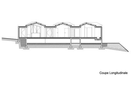 Press kit | 921-03 - Press release | Réalisation d'une maison individuelle - Elodie Nourrigat et Jacques Brion architectes - Immobilier