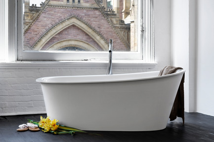 Press kit | 1780-01 - Press release | WETSTYLE remporte le Green GOOD DESIGN Award - WETSTYLE - Competition - Tulip Tub  - Photo credit: WETSTYLE