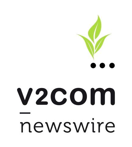 "Press kit | 1402-01 - Press release | v2com affiche ses vraies couleurs! - v2com newswire - Event + Exhibition - Branding for Value #1: ""Building a better world"". v2com goes green! - Photo credit: v2com newswire"