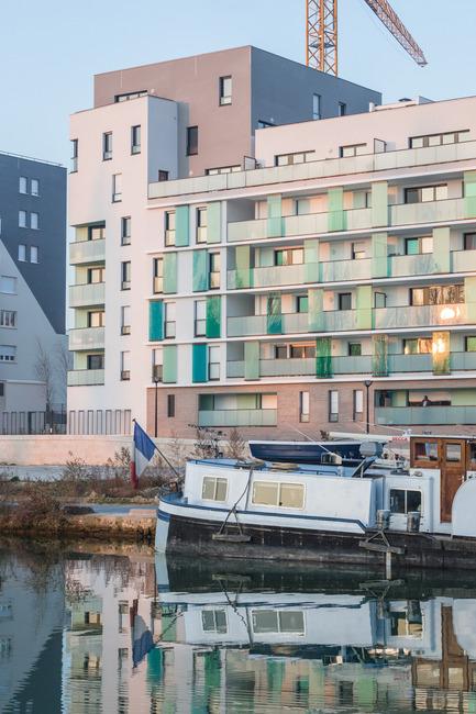 Dossier de presse | 1052-05 - Communiqué de presse | La ZAC du Canal – Porte d'Aubervilliers - Margot-Duclot architectes associés (MDaa) - Architecture résidentielle - Crédit photo : MDaa