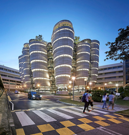 Dossier de presse | 661-28 - Communiqué de presse | World Architecture Festival Awards: 2015 WAF and INSIDE Shortlists announced - World Architecture Festival (WAF) - Architecture commerciale - Nanyang Technological University by Heatherwick Studio - Completed Buildings, Higher Education category  - Crédit photo : Heatherwick Studio