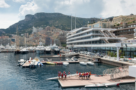 Dossier de presse | 661-28 - Communiqué de presse | World Architecture Festival Awards: 2015 WAF and INSIDE Shortlists announced - World Architecture Festival (WAF) - Architecture commerciale - Yacht Club de Monaco by Foster + Partners - Completed Buildings, Hotel & Leisure category  - Crédit photo : Foster + Partners