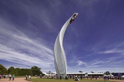 Press kit | 1022-02 - Press release | Mazda Sculpture - Goodwood Festival of Speed 2015 - Gerry Judah - Art - Photo credit: David Barbour