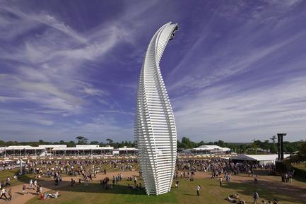 Dossier de presse | 1022-02 - Communiqué de presse | Mazda Sculpture - Goodwood Festival of Speed 2015 - Gerry Judah - Art - Crédit photo : David Barbour