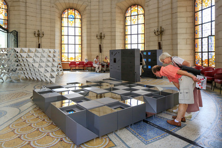 Dossier de presse | 982-26 - Communiqué de presse | The « Festival des Architectures Vives 2015 » in Montpellier – La Grande-Motte - Association Champ Libre - Festival des Architectures Vives (FAV) - Event + Exhibition - ABC Studio ( Doonam Back &amp; Yann Caclin)<br>// VIllE - Crédit photo : Paul KOZLOWSKI ©photoarchitecture.com<br>Site&nbsp;: http://photoarchitecture.com