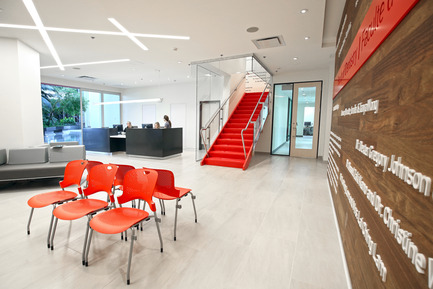 Press kit | 1152-03 - Press release | McGill University's Faculty of Dentistry - LumiGroup - Commercial Architecture - Main reception room - Photo credit: Yoshino Aoki