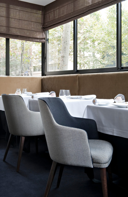 Press kit | 1112-01 - Press release | Restaurant Il Vino - Emma Donnersberg and Michel Amar - Commercial Interior Design - Photo credit: Nicolas Matheus
