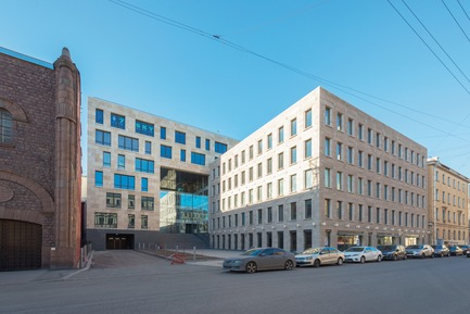 Press kit | 1407-04 - Press release | The Eurasian Prize 2015 winners announced - The Eurasian Prize - Competition - Administrative and Residential Compound, St. Petersburg by Evgeny Gerasimov and Partners  - Photo credit: The Eurasian Prize