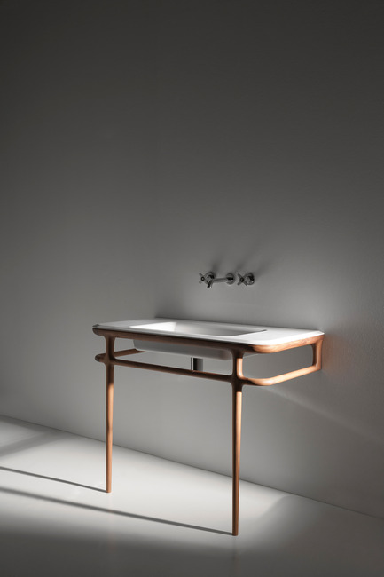 Press kit | 1818-02 - Press release | 100% Design 2015(23-26 September) announces leading names for Kitchens & Bathrooms, Workplace and Design & Build - 100% Design - Event + Exhibition - IL BAGNO collection by Antonio Lupi - Photo credit: Antonio Lupi