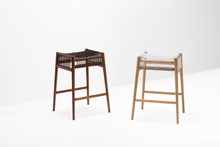 Press kit | 1539-02 - Press release | Discover H Collection 2015 - H Furniture Ltd. - Industrial Design - Loom Bar Stool - Photo credit: Peter Guenzel<br>