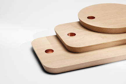 Press kit | 1539-02 - Press release | Discover H Collection 2015 - H Furniture Ltd. - Industrial Design - Ring Cutting Boards - Photo credit: Peter Guenzel