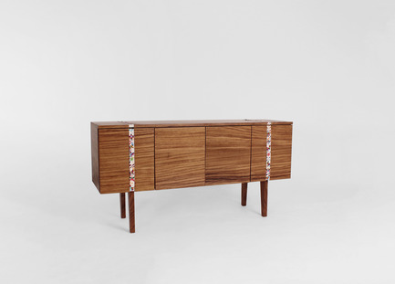 Press kit | 1834-01 - Press release | IntroducingDubai Design Week key initiatives: 'Abwab' and 'Destination' - Dubai Design Week - Event + Exhibition - Abierto de Disegno Mexico  : Sideboard  by Tributo <br> - Photo credit: Tributo