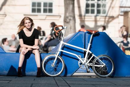 Dossier de presse | 1833-01 - Communiqué de presse | The first urban compact bike - VELLO bike - Industrial Design - VELLO Speedster - Crédit photo : Leonardo Ramirez Castillo