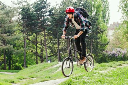 Dossier de presse | 1833-01 - Communiqué de presse | The first urban compact bike - VELLO bike - Industrial Design - VELLO Rocky - Crédit photo : Leonardo Ramirez Castillo