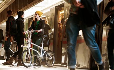 Dossier de presse | 1833-01 - Communiqué de presse | The first urban compact bike - VELLO bike - Industrial Design - VELLO Urbano - Crédit photo : Leonardo Ramirez Castillo