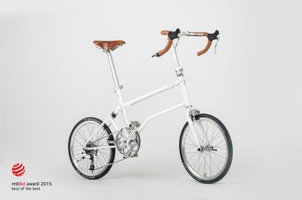 Dossier de presse | 1833-01 - Communiqué de presse | The first urban compact bike - VELLO bike - Industrial Design - VELLO Speedster - Crédit photo : V.Kutinkov