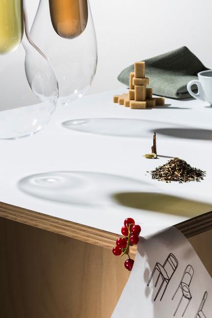 Press kit | 1818-03 - Press release | 100% Design 2015 commissions design features - 100% Design - Event + Exhibition -  Half-Three Café designed by Daniel Rous of Fabrica - Photo credit: Shek Po Kwan