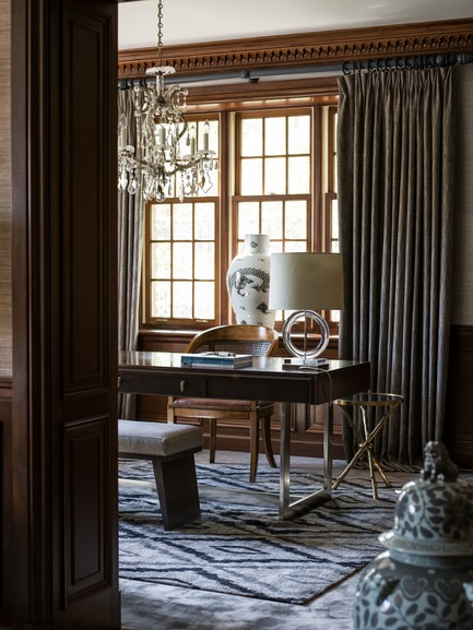 Press kit | 1135-03 - Press release | Les Ensembliers completes two-year Tudor transformation - Les Ensembliers - Residential Interior Design - Photo credit: André Rider