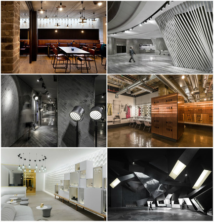 Press kit | 1124-06 - Press release | Shortlist announced for the World Interiors News Awards 2015 - World Interiors News - Commercial Interior Design - World Interiors News Awards 2015&nbsp;<br>Leisure or Entertainment Venues Category Shortlist<br><br>Top row, left to right:&nbsp;<br>The Everyman Theatre by&nbsp;Haworth Tompkins with Citizens Design Bureau<br>   Coastal Cinema by   One Plus   Partnership (Hong Kong) Limited<br><br>Middle row, left to right:&nbsp;<br>Luminary by One Plus   Partnership (Hong Kong) Limited<br>1Rebel by Studio C102<br><br>Bottom row,&nbsp;left to right:&nbsp;<br>The Agua Spa by Design Research Studio<br>Exploded by&nbsp; One Plus   Partnership (Hong Kong) Limited - Photo credit: Various