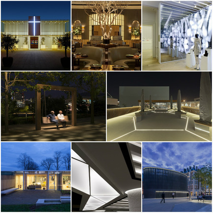 Press kit | 1124-06 - Press release | Shortlist announced for the World Interiors News Awards 2015 - World Interiors News - Commercial Interior Design - World Interiors News Awards 2015&nbsp;<br>Lighting Projects Category Shortlist<br><br>Top row, left to right:&nbsp;<br>Dar Tal-Providenza | Entrance Courtyard by&nbsp;Galea&amp;Galea Architects<br>Fera at Claridge's by&nbsp;Lighting Design International<br>Galeria Melissa by IDL<br><br>Middle row, left to right:&nbsp;<br>Queen Elizabeth Olympic Park by&nbsp;Speirs + Major<br>UK Pavilion, Milan Expo 2015 by BDP<br><br>Bottom row,&nbsp;left to right:&nbsp;<br>Maggie's Centre, Lanarkshire by Speirs + Major<br>   Food court at INTU Lakeside by Lighting Design International<br>Kings Cross Square by&nbsp;studioFRACTAL<br> - Photo credit: Various