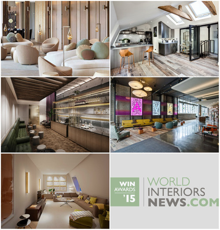 Press kit | 1124-06 - Press release | Shortlist announced for the World Interiors News Awards 2015 - World Interiors News - Commercial Interior Design - World Interiors News Awards 2015&nbsp;<br>Residential Development Category Shortlist<br><br>Top row, left to right:&nbsp;<br>   Lumiere Residences by&nbsp;   Tsao &amp; McKown   Architects<br>   Gatti House by&nbsp;   CBRE<br><br>Middle row, left to right:&nbsp;<br>   Barts Square by&nbsp;   Johnson Naylor LLP<br>   AVA 55 Ninth by&nbsp;   Solomon Cordwell   Buenz<br><br>Bottom row:<br>   The Mellier by&nbsp;   Studio   Mackereth Ltd<br> - Photo credit: Various