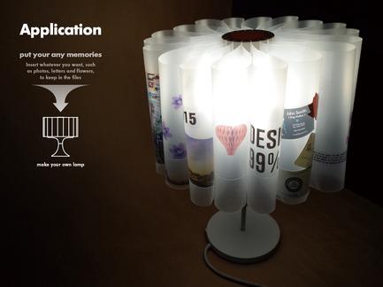 Press kit | 1834-03 - Press release | Introducing a world-first: 'Global Grad Show' at Dubai Design Week - Dubai Design Week - Event + Exhibition - Memory Lamp<br>Student : Im Jonguk,Bae Hyunjoo, Kim Minhwan <br>School : KAIST  - Photo credit: KAIST