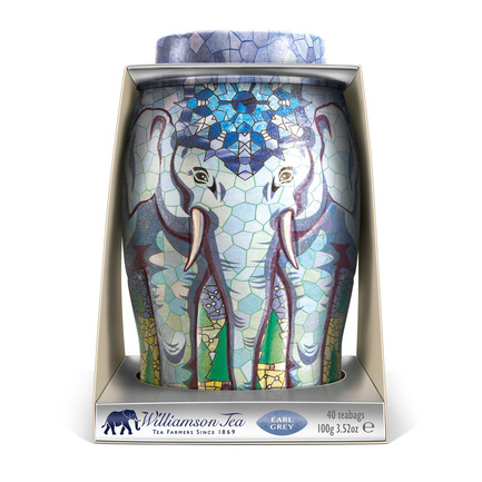 Press kit | 902-04 - Press release | Call for entries to the International A' Design Award & Competition 2016 - A' Design Award and Competition - Competition - Williamson Tea Elephant Caddies Packaging bySpringetts Brand Design Consultants - Photo credit: Springetts Brand Design Consultants, 2014.