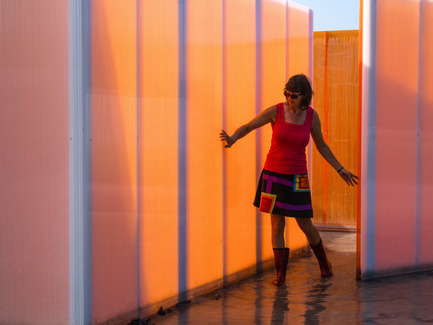 Dossier de presse | 837-14 - Communiqué de presse | Call for proposals - International Garden Festival 2016 - International Garden Festival / Reford Gardens - Event + Exhibition -   SE MOUILLER (la belle échappée)<br>Groupe A / Annexe U [Jean-François Laroche, Rémi Morency, Érick Rivard &amp; Maxime Rousseau]<br><br>Québec (Québec) Canada<br><br>www.groupea.qc.ca&nbsp;<br><br>Sponsors: KAMIK &amp; Polyalto <br>  - Crédit photo : Louise Tanguay
