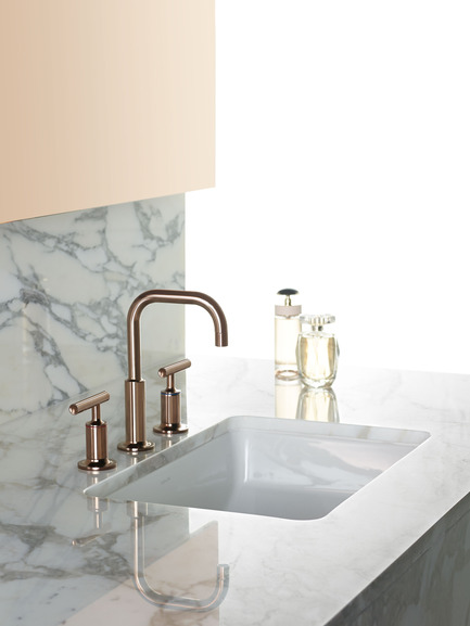 Press kit | 1834-04 - Press release | Downtown Design announces final exhibitor list and showcases new talent alongside established - Downtown Design - Event + Exhibition - Kohler<br>Rose&nbsp;gold collection<br> - Photo credit: Kohler
